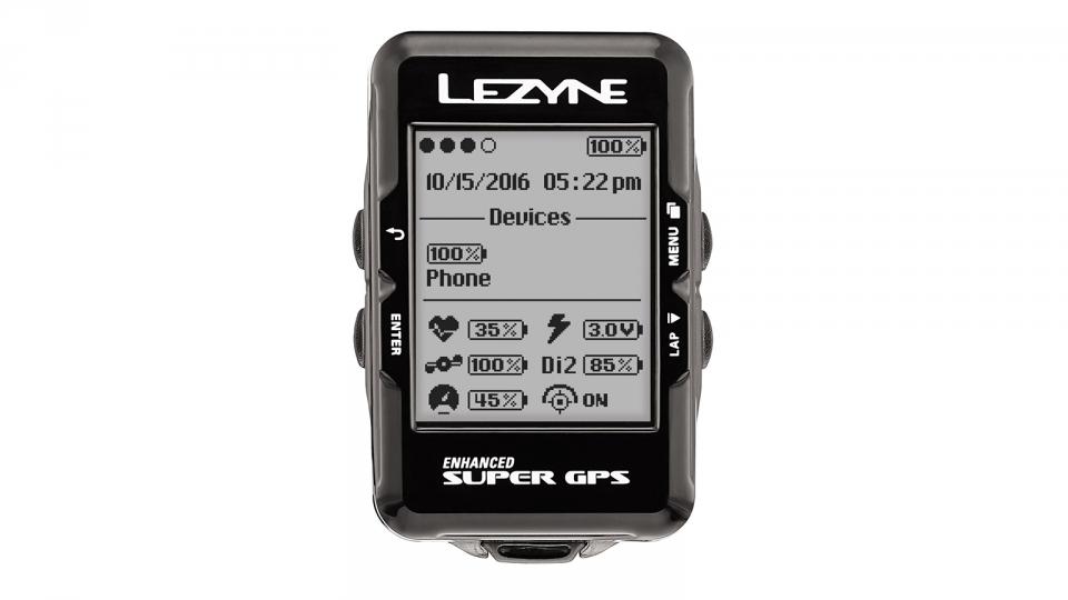 Ciclocomputador Lezyne Super GPS