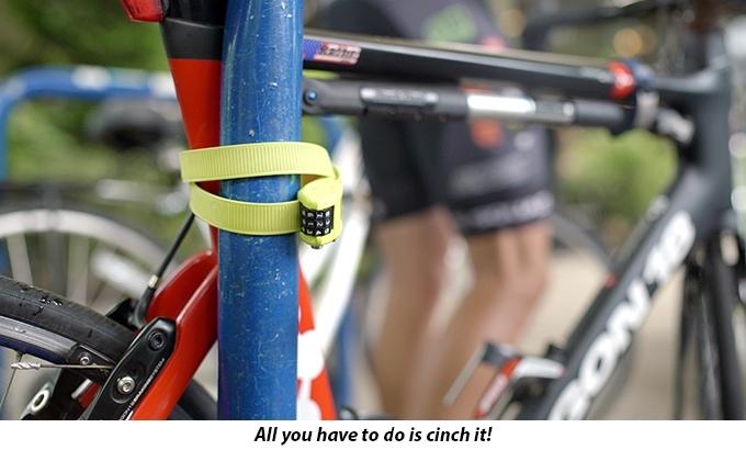 Cadeado antirroubo e antifurto OTTOLOCK para bike