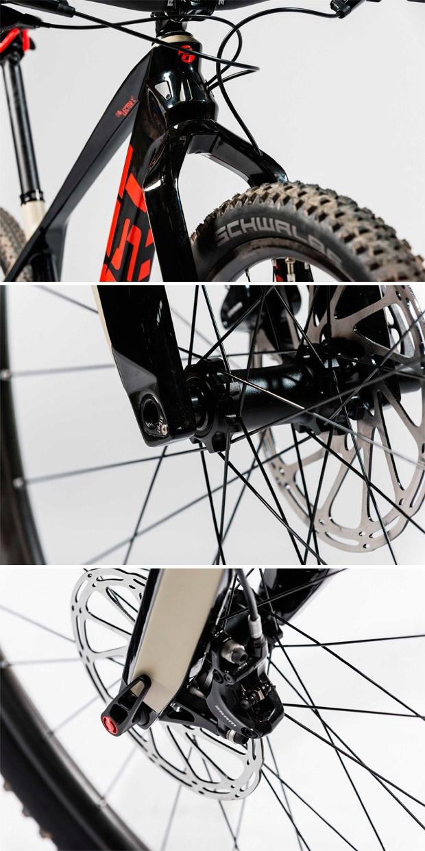 Mountain bike Ghost Lector X - detalhes