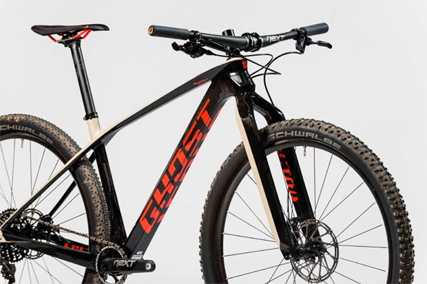 Mountain bike Ghost Lector X - perfil