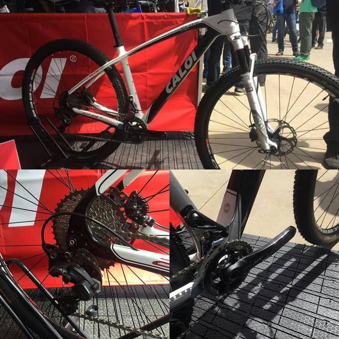 38fac31e0 Caloi apresenta a nova mountain bike Elite Carbon Racing 2017