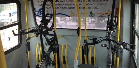 onibus suporte bicicleta