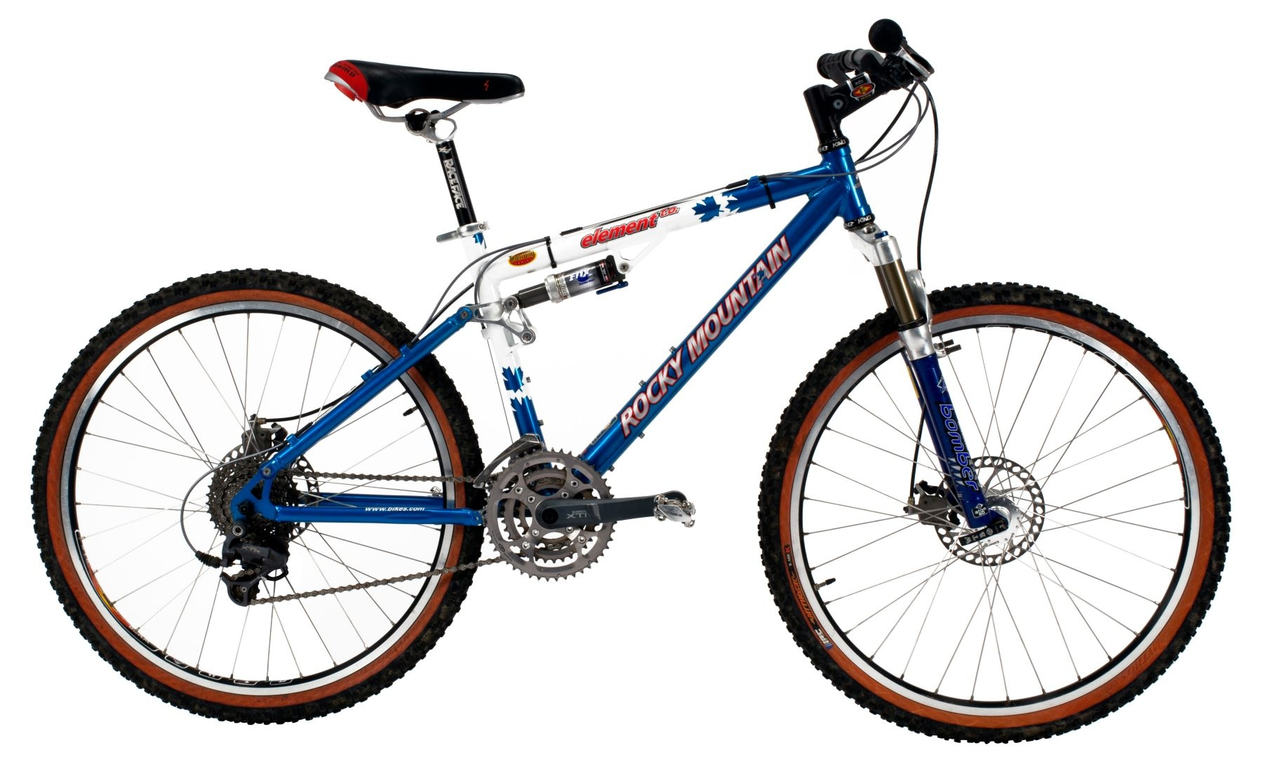 Bike Rocky Mountain Element T.O. Robin Williams