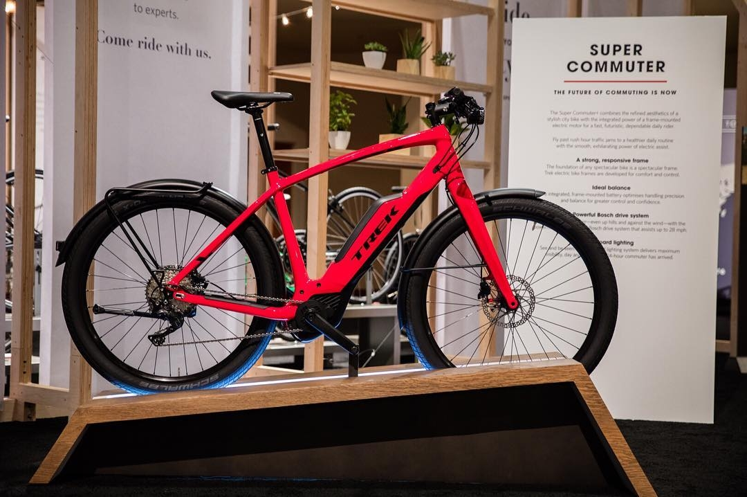 Trek Super Commuter e-bike