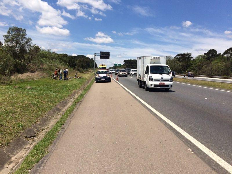 Motorista embriagado atropela grupo de ciclista e mata um.
