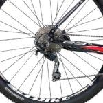 Caloi Elite - Roda e câmbio traseiro
