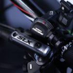 Manete do passador e do freio Shimano Deore/SLX da Audax Bike Auge 30 Carbon