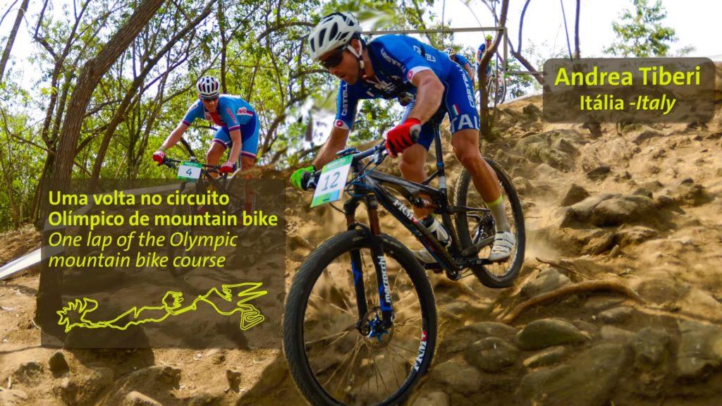 Percurso Prova Mountain Bike - Rio 2016