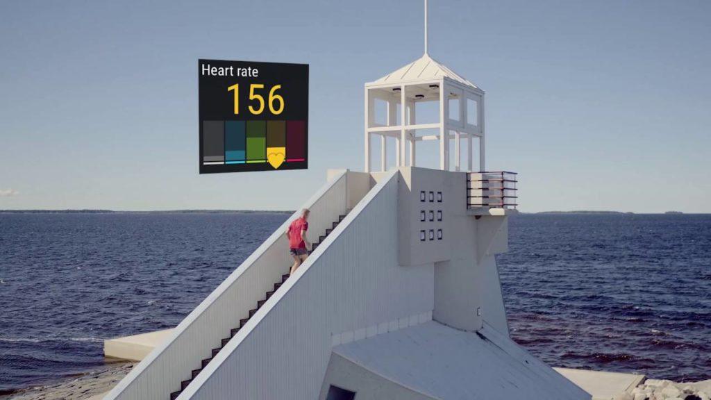Polar M600 relógio com GPS e Android Wear