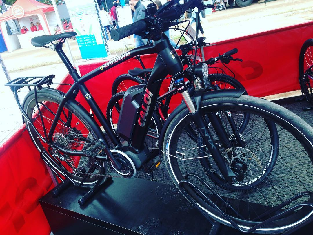 Caloi apresenta protótipo de E-Bike