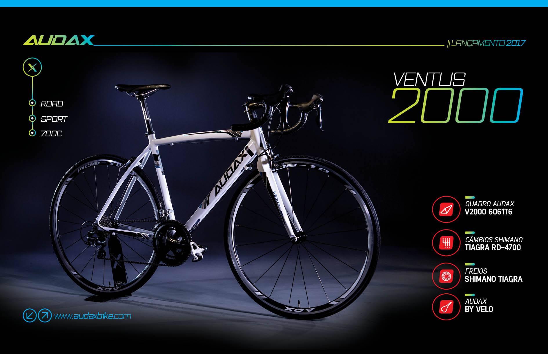Audax Ventus 2000 Bike Speed versão 2017