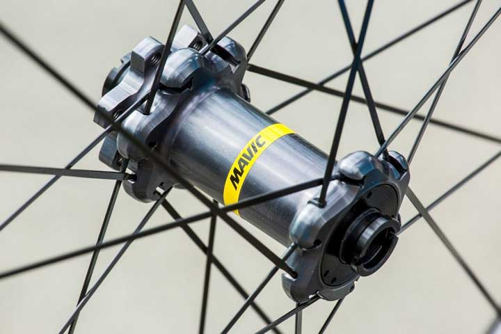 Mavic Crossmax Pro Carbon cubos com raiação