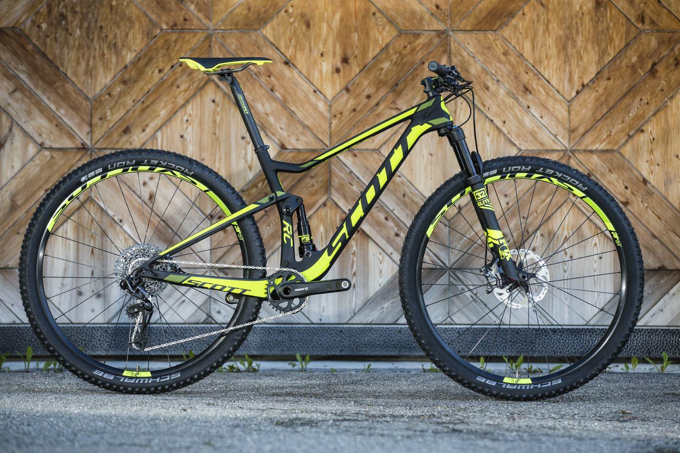 Catálogo de bicicletas speed mountain bike Scott 2017