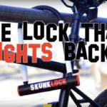 Cadeado contra furto de bicicleta Skunklock