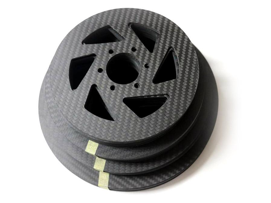 Disco de freio de carbono e cerâmica para bicicleta