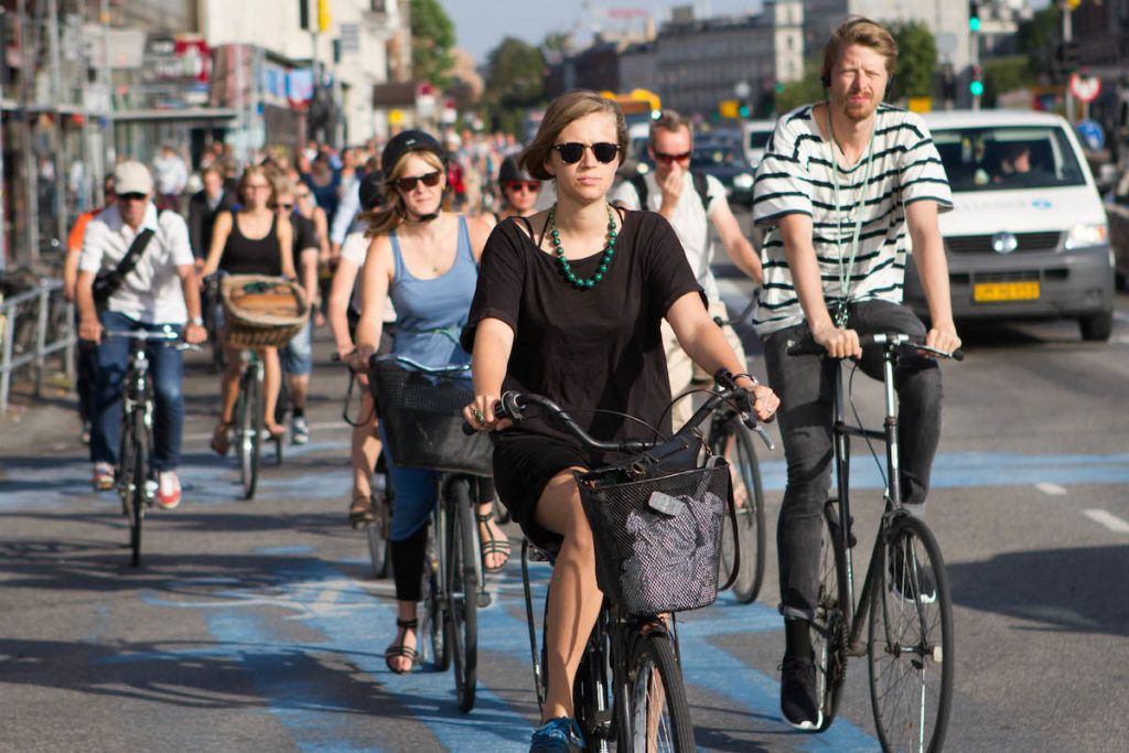 Bicicleta Copenhague Dinamarca