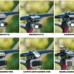 Suporte para câmera, ciclocomputador e farol Cycliq Duo Mount