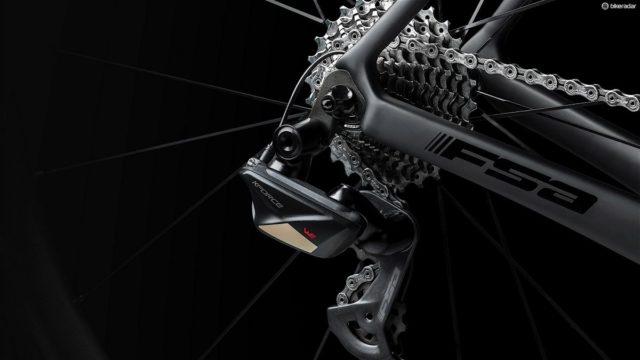 FSA K-Force WE - transmissão eletrônica sem fios para bicicleta