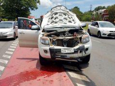 Motorista em caminhonete atropela ciclista no Distrito Federal