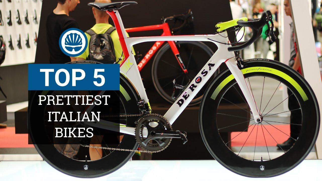 Top 5 bicicletas de estrada italianas