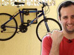 Suporte de parede para bike