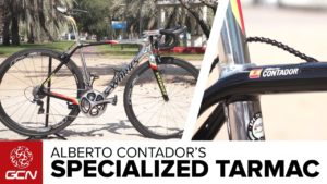 Specialized S-Works Tarmac de Alberto Contador