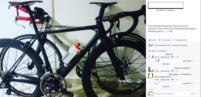 Ciclista divulga duas nova bicicletas da Soul Cycle