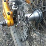 Disco de freio de carbono apresentam problemas