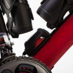 Equipamento lubrifica corrente enquanto pedala