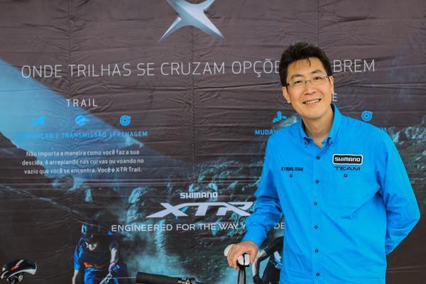 Brasileiro Fábio Takayanagi presidirá Shimano nos EUA (Rodrigo Philipps / Shimano)
