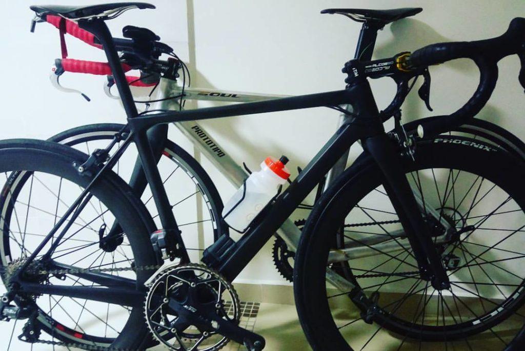 Protótipos de bicicletas Soul Cycle