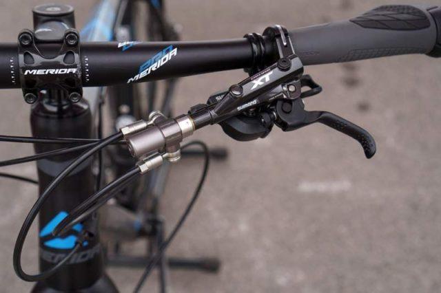 Freio de bicicleta uma manete