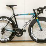 Bicicleta Argon 18 da equipe Astana