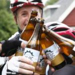 Cerveja para ciclistas À Bloc