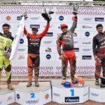 Lucas Borba é vice-campeão da Copa América de Downhill 4X - Pódio