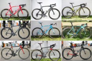 Bicicletas do World Tour 2017
