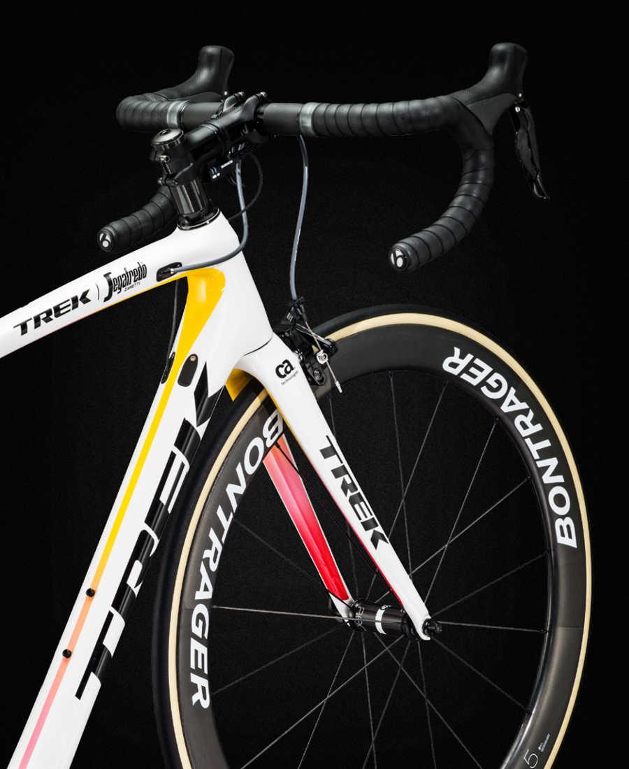 Detalhes da Trek Émonda de Alberto Contador