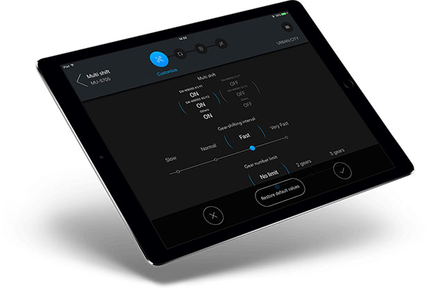 Shimano E-Tube Tablet