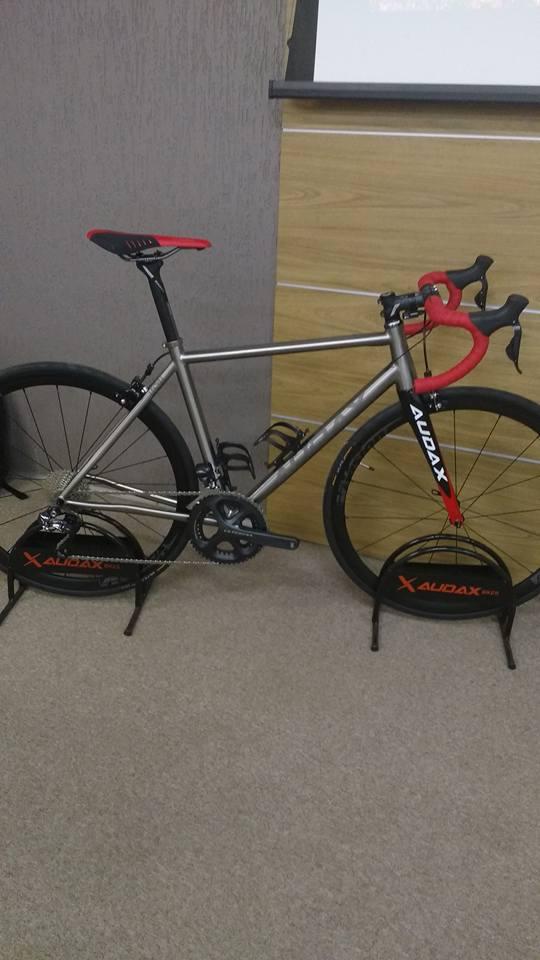 Bicicleta Speed Audax de Titânio