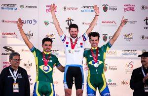 Luiz Henrique Cocuzzi sobe ao pódio no Campeonato Pan-Americano de Mountain Bike