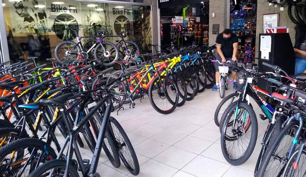 Vendas de bicicletas cresce 118% em julho no Brasil
