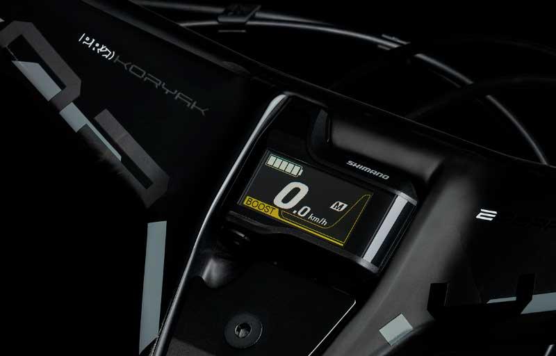 Cockpit PRO Koryak E-Performance para bicicleta elétrica e-MTB-capa