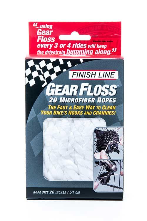 Corda de microfibra para limpeza de catraca Finish Line