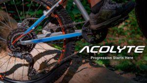 Transmissão MicroSHIFT Acolyte para bicicleta infantil MTB