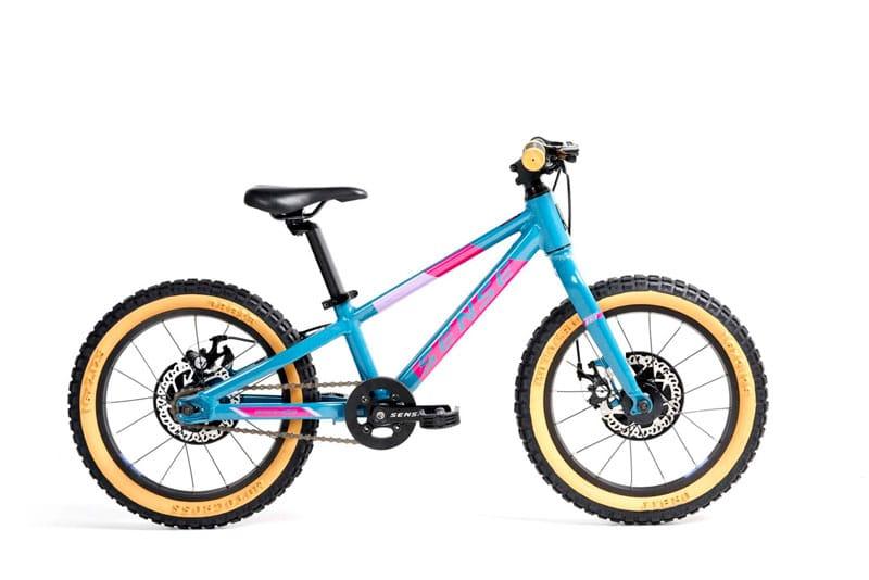 Sense Grom acqua e róseo 2021/2022 - fotos reprodução Sense Bikes
