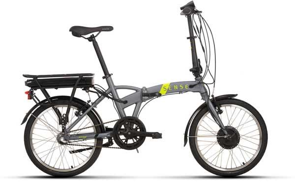 Bicicleta dobrável Elétrica Sense Easy 2020