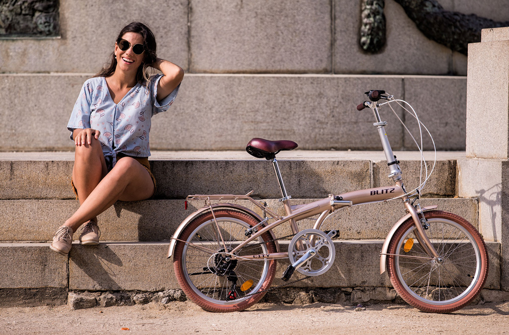 Bike dobrável Blitz City