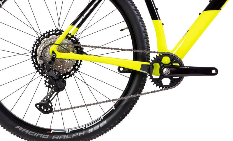 Componentes Shimano XT da Caloi Elite Carbon Racing 2021