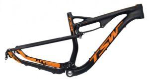 Quadro de bicicleta mountain bike TSW TFull full suspension